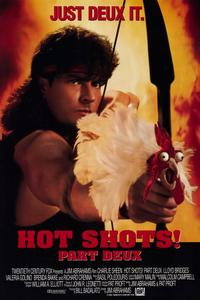 Hot Shots! Part Deux - 11 x 17 Movie Poster - Style B