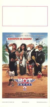 Hot Shots! Part Deux - 13 x 28 Movie Poster - Italian Style A
