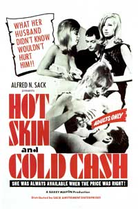 Hot Skin, Cold Cash - 11 x 17 Movie Poster - Style A