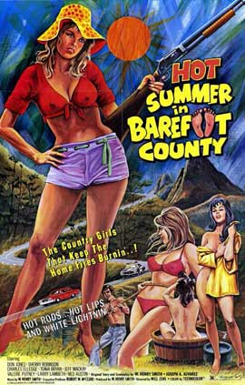 Hot Summer in Barefoot Country - 11 x 17 Movie Poster - Style A