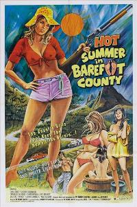 Hot Summer in Barefoot County - 27 x 40 Movie Poster - Style A
