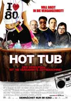 Hot Tub Time Machine - 11 x 17 Movie Poster - German Style A