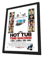 Hot Tub Time Machine - 27 x 40 Movie Poster - Style A - in Deluxe Wood Frame