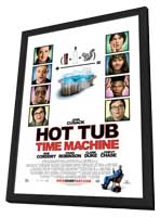 Hot Tub Time Machine - 11 x 17 Movie Poster - Style A - in Deluxe Wood Frame