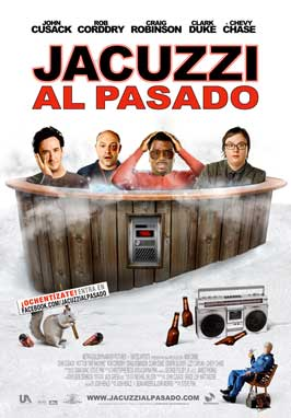 Hot Tub Time Machine - 27 x 40 Movie Poster - Spanish Style A