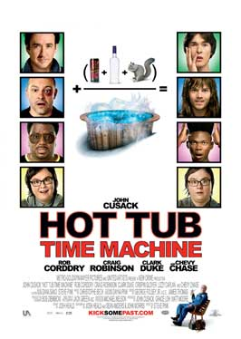 Hot Tub Time Machine - 43 x 62 Movie Poster - Bus Shelter Style A