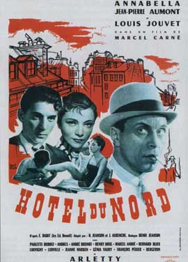 Hotel du Nord - 11 x 17 Movie Poster - French Style C
