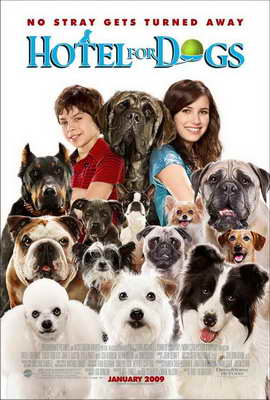 Hotel for Dogs - 11 x 17 Movie Poster - Style C