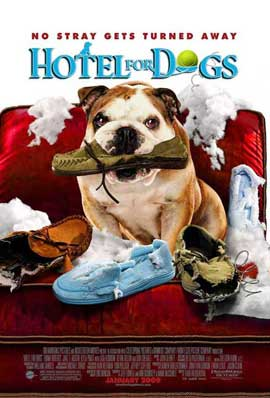 Hotel for Dogs - 11 x 17 Movie Poster - Style F