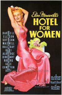 Hotel for Women - 43 x 62 Movie Poster - Bus Shelter Style A