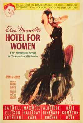 Hotel for Women - 11 x 17 Movie Poster - Style B