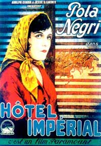 Hotel Imperial - 11 x 17 Movie Poster - French Style A