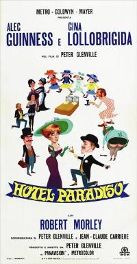 Hotel Paradiso - 13 x 28 Movie Poster - Italian Style A
