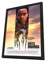 Hotel Rwanda - 11 x 17 Movie Poster - Style A - in Deluxe Wood Frame