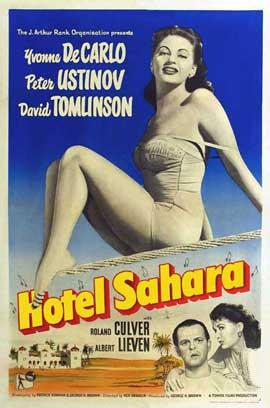 Hotel Sahara - 11 x 17 Movie Poster - Style B