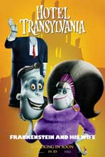 Hotel Transylvania - 11 x 17 Movie Poster - Style F