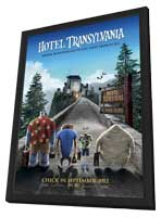 Hotel Transylvania - 11 x 17 Movie Poster - Style A - in Deluxe Wood Frame