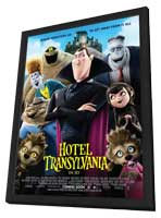 Hotel Transylvania - 11 x 17 Movie Poster - Style B - in Deluxe Wood Frame