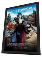 Hotel Transylvania - 27 x 40 Movie Poster - Style I - in Deluxe Wood Frame