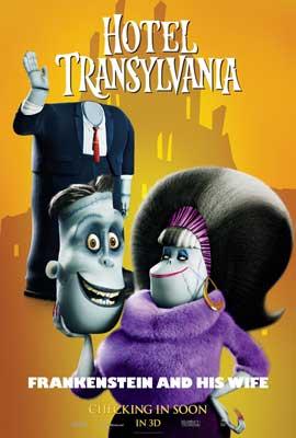 Hotel Transylvania - 11 x 17 Movie Poster - Style F