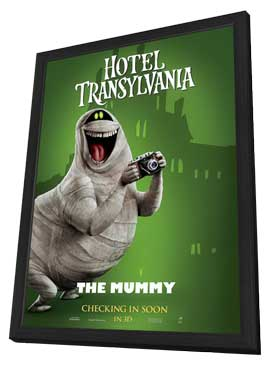 Hotel Transylvania - 27 x 40 Movie Poster - Style C - in Deluxe Wood Frame