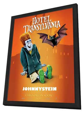 Hotel Transylvania - 27 x 40 Movie Poster - Style E - in Deluxe Wood Frame