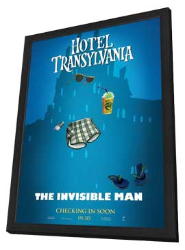 Hotel Transylvania - 11 x 17 Movie Poster - Style H - in Deluxe Wood Frame