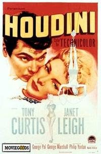 Houdini - 43 x 62 Movie Poster - Bus Shelter Style A