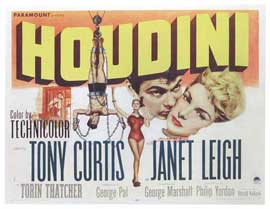 Houdini - 11 x 17 Movie Poster - Style B
