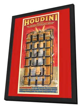 Houdini - 27 x 40 Movie Poster - Style B - in Deluxe Wood Frame