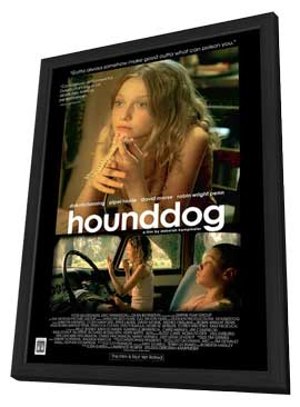 Hounddog - 27 x 40 Movie Poster - Style B - in Deluxe Wood Frame