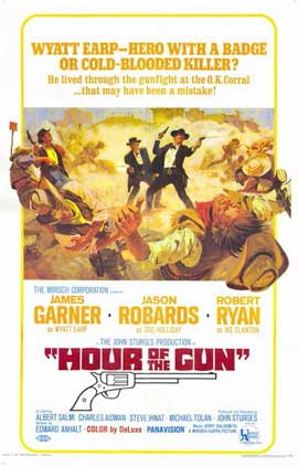 Hour of the Gun - 11 x 17 Movie Poster - Style B