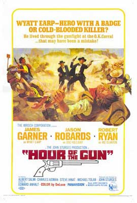 Hour of the Gun - 27 x 40 Movie Poster - Style B