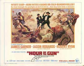 Hour of the Gun - 22 x 28 Movie Poster - Half Sheet Style A