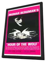 Hour of the Wolf - 11 x 17 Movie Poster - Style B - in Deluxe Wood Frame