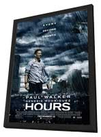 Hours - 27 x 40 Movie Poster - Style A - in Deluxe Wood Frame