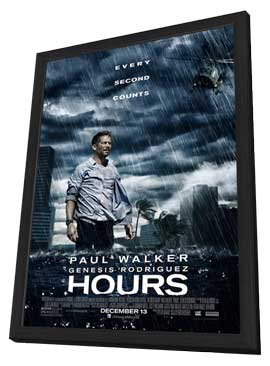Hours - 11 x 17 Movie Poster - Style A - in Deluxe Wood Frame