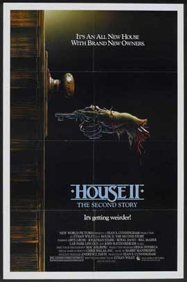 House 2: The Second Story - 11 x 17 Movie Poster - Style A
