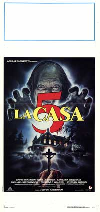 House 5 - 13 x 28 Movie Poster - Italian Style A
