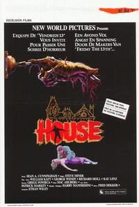 House - 11 x 17 Movie Poster - Belgian Style A