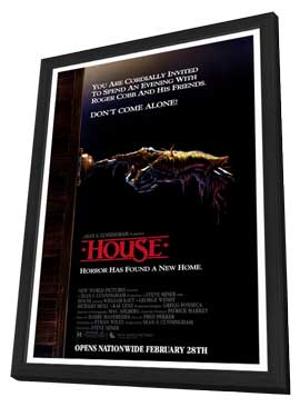 House - 11 x 17 Movie Poster - Style A - in Deluxe Wood Frame