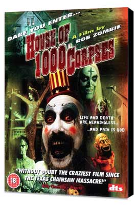 House of 1000 Corpses - 11 x 17 Movie Poster - Style B - Museum Wrapped Canvas