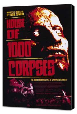 House of 1000 Corpses - 27 x 40 Movie Poster - Style A - Museum Wrapped Canvas