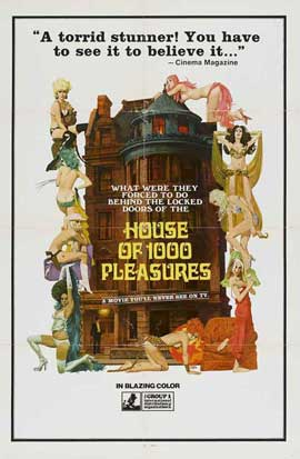 House of 1,000 Pleasures - 11 x 17 Movie Poster - Style A