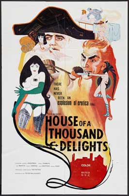 House of a Thousand Delights - 11 x 17 Movie Poster - Style A