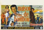 House of Bamboo - 11 x 17 Movie Poster - Belgian Style A