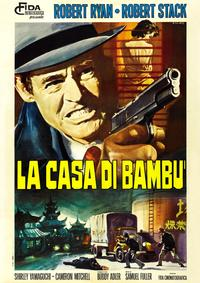 House of Bamboo - 11 x 17 Movie Poster - Italian Style C