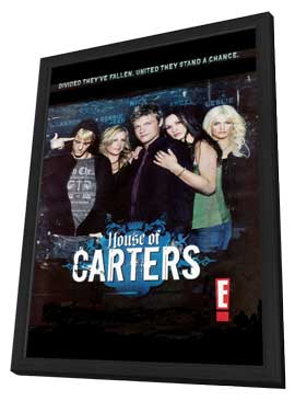 House of Carters - 11 x 17 TV Poster - Style A - in Deluxe Wood Frame