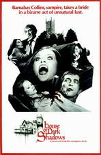 House of Dark Shadows - 11 x 17 Movie Poster - Style B