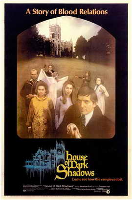 House of Dark Shadows - 11 x 17 Movie Poster - Style A